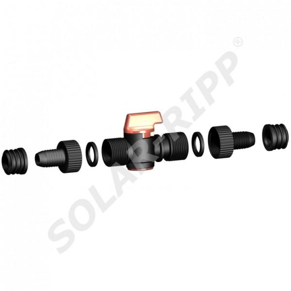 SOLAR-RIPP ® Solarrohr-Handhahn-Set