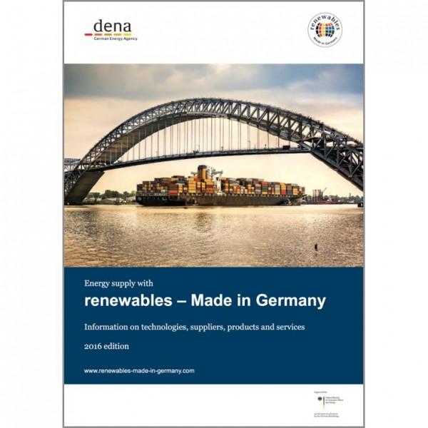 """Katalog """"dena"""": Informationen über Technologien, Anbieter, Produkte und Dienstleistungen"""
