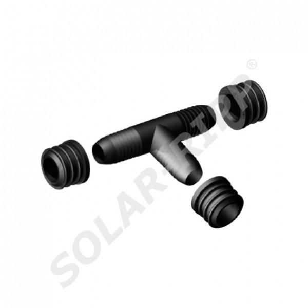 SOLAR-RIPP ® Solarrohr-T-Verbinder-Set